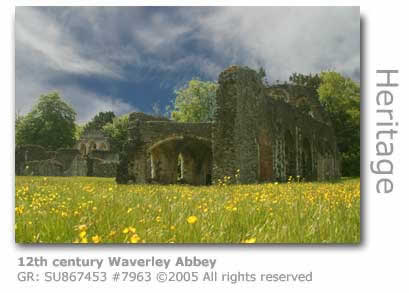 12TH CENTURY WAVERLEY ABBEY