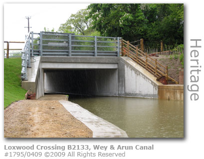 Loxwood Crossing bridge, Wey & Arun Canal