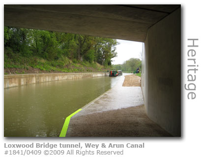 Loxwood Bridge tunnel on Wey & Arun Canal