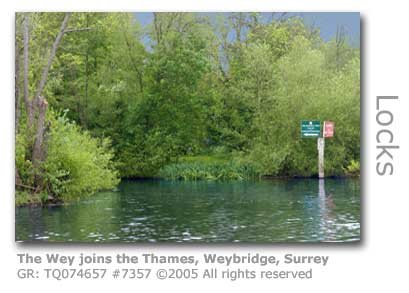 CONFLUENCE OF THE WEY AND THE THAMES