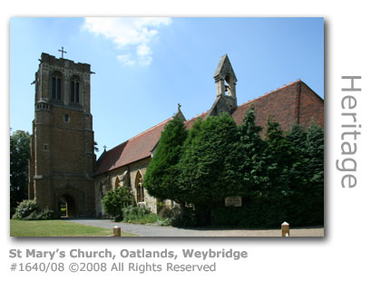 St Mary's Church, Oatlands, Weybridge