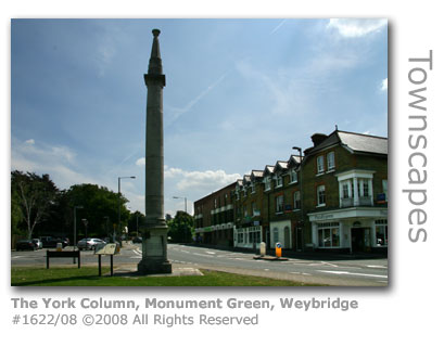 The York Column, Weybridge, Surrey