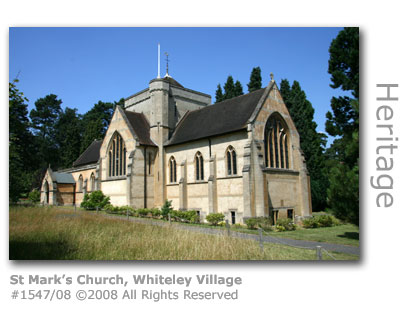 St Mark's Church, Whiteley Village, Hersham